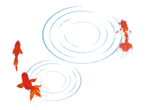 金魚のイラスト 無料で使えるフリーな らくがき素材